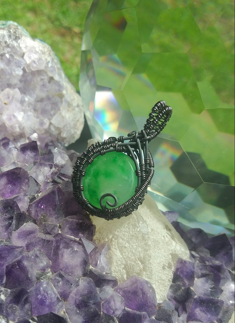 Image of Dark Side Jade Moon