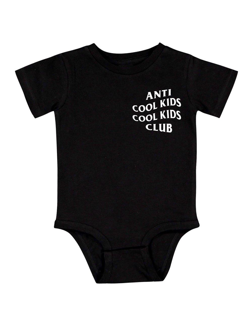 ANTI COOL KIDS ONESIE