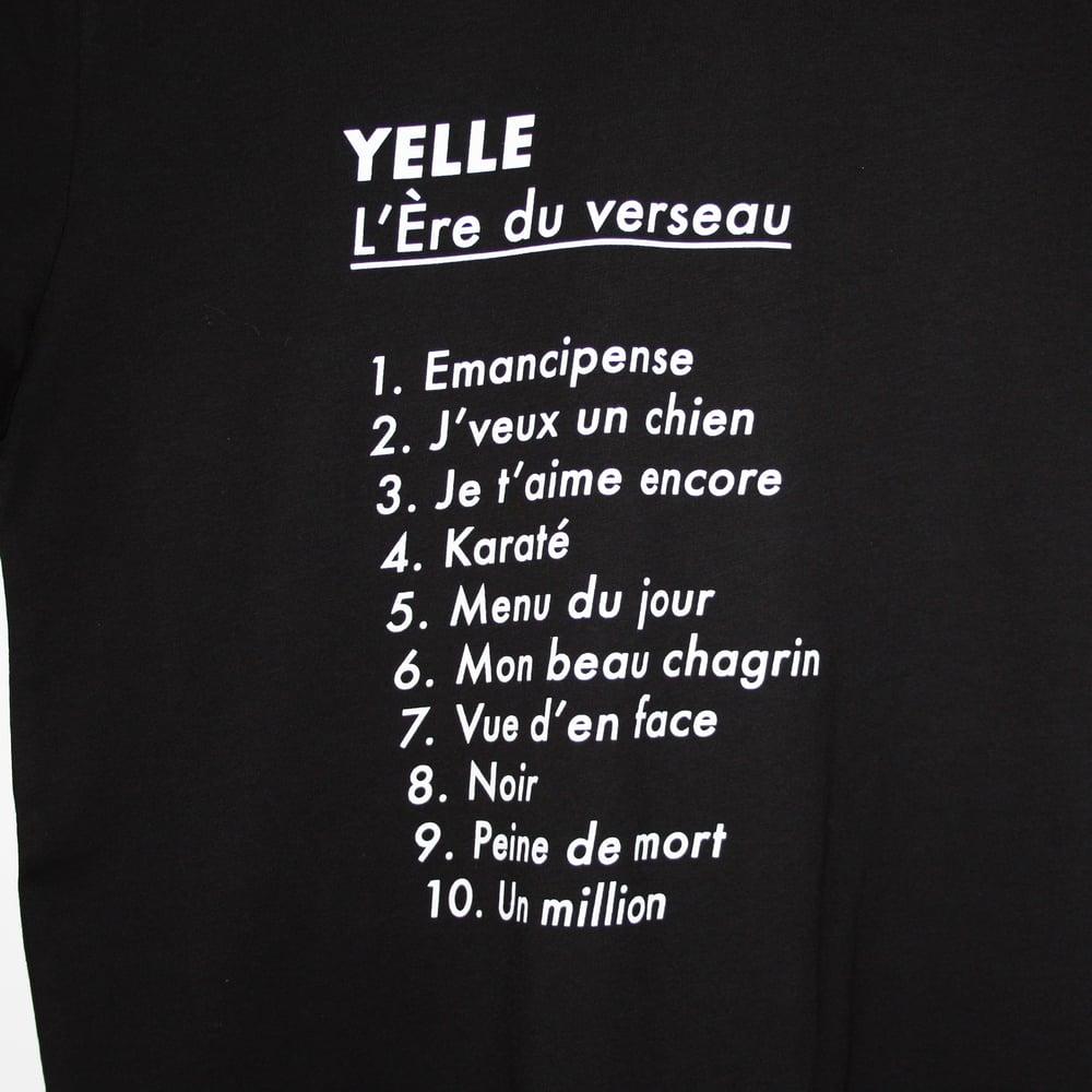 "Image of Yelle ""L'Ère du Verseau tracklist"" tshirt (free shipping)"