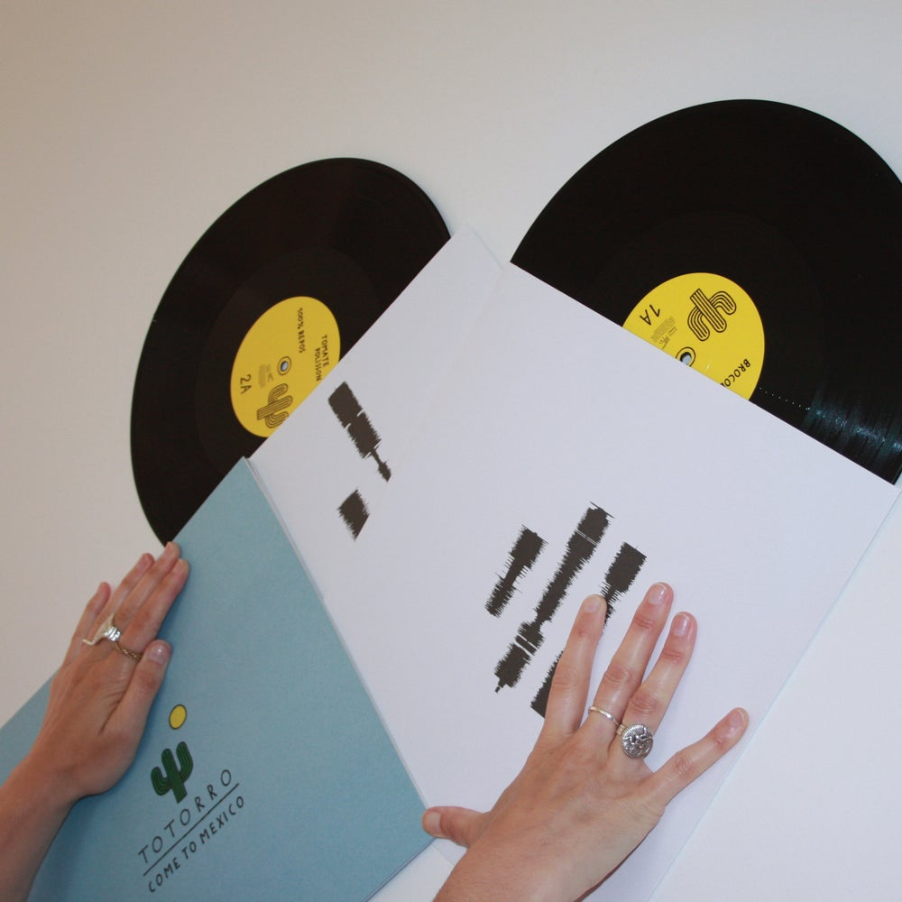 """Image of Totorro """"Come to Mexico"""" double vinyl (free shipping)"""