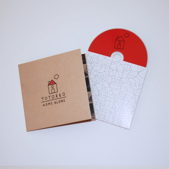 """Image of Totorro """"Home Alone"""" CD, free shipping!"""