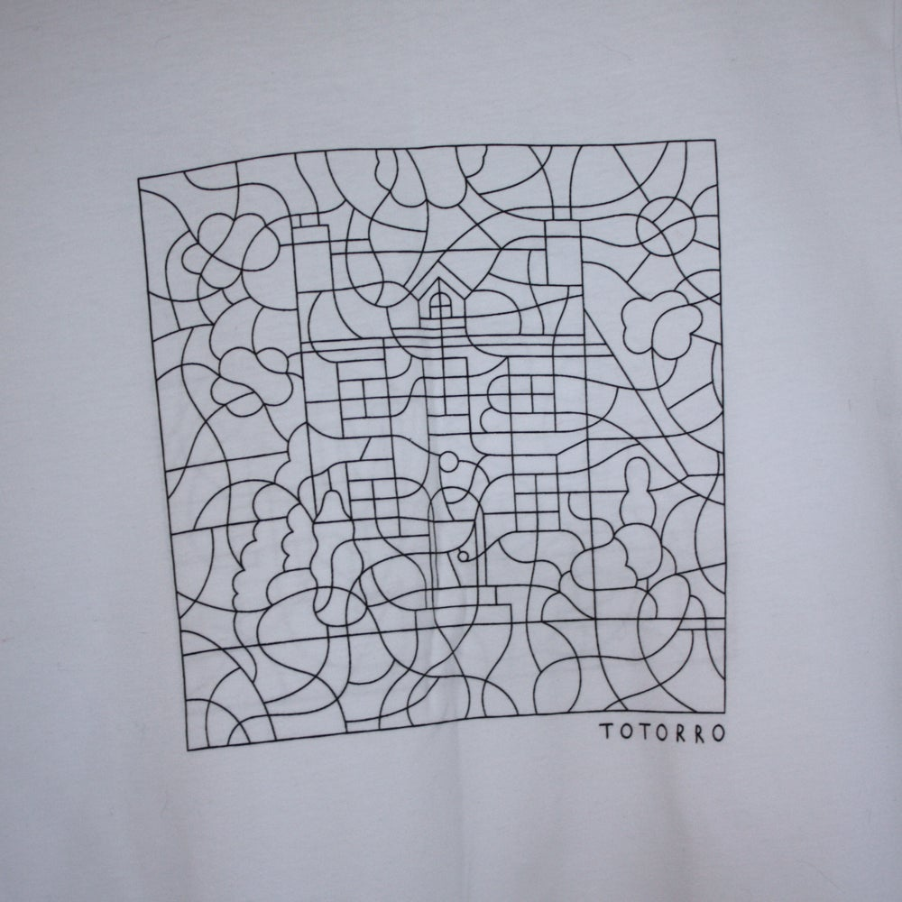 """Image of Totorro """"Home Alone coloriage"""" tshirt (free shipping)"""