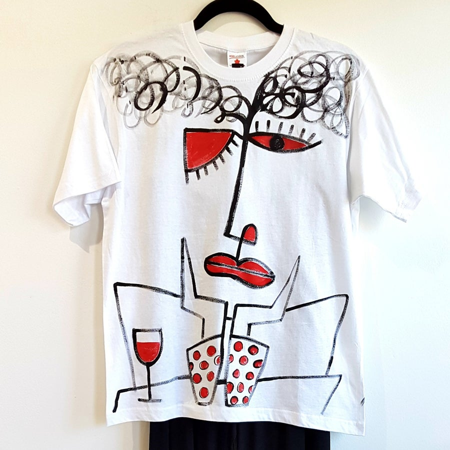 Image of #1 painted tshirt