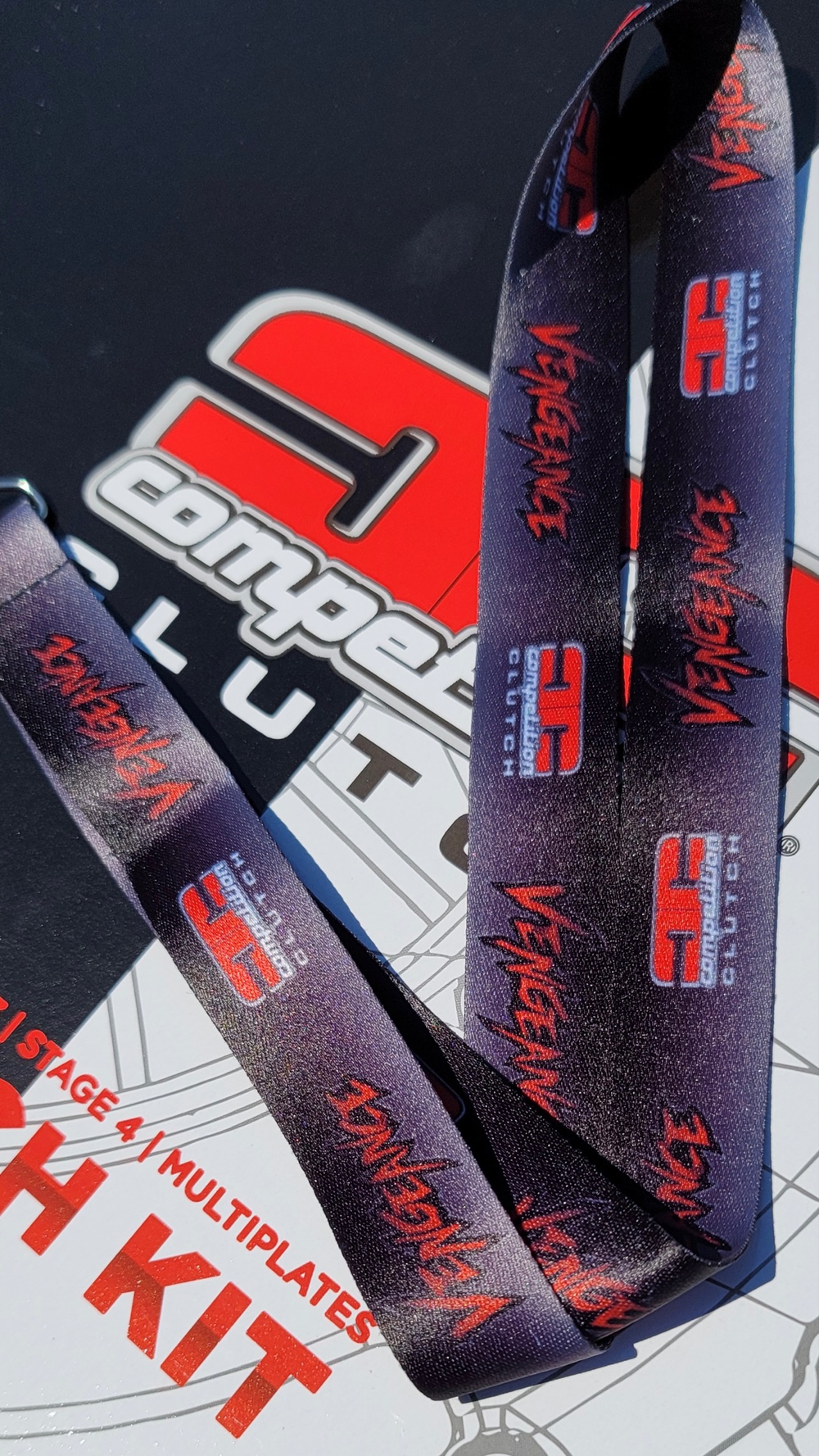 Vengeance from Competition Clutch Lanyards