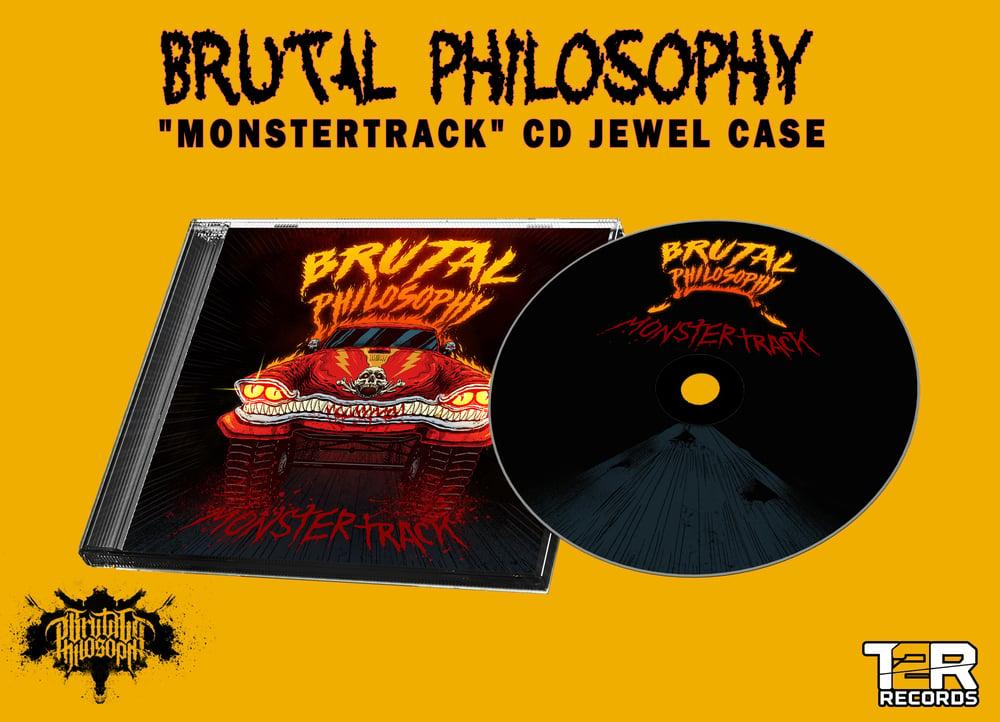 """Brutal Philosophy """"Monstertrack"""" - cd jewel case"""