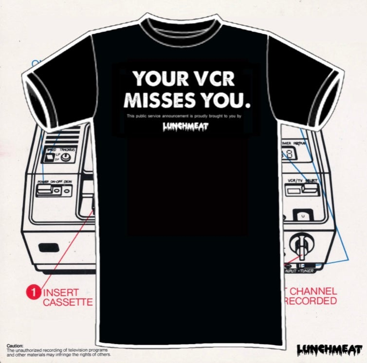 Image of Lunchmeat: Your VCR Misses You
