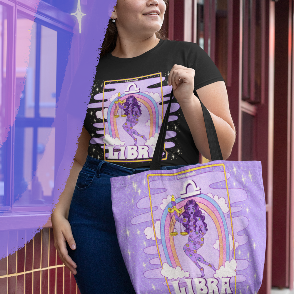 Image of LIBRA PULP ASTROLOGY TEE