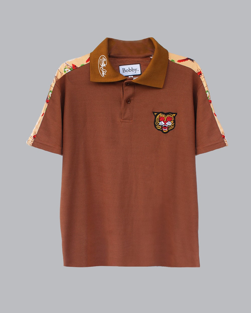 Image of The BLAK Polo in Brown
