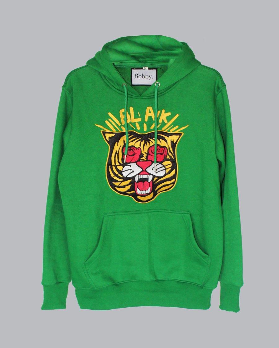 """Image of The BLAK Hoodie in """"Green"""""""