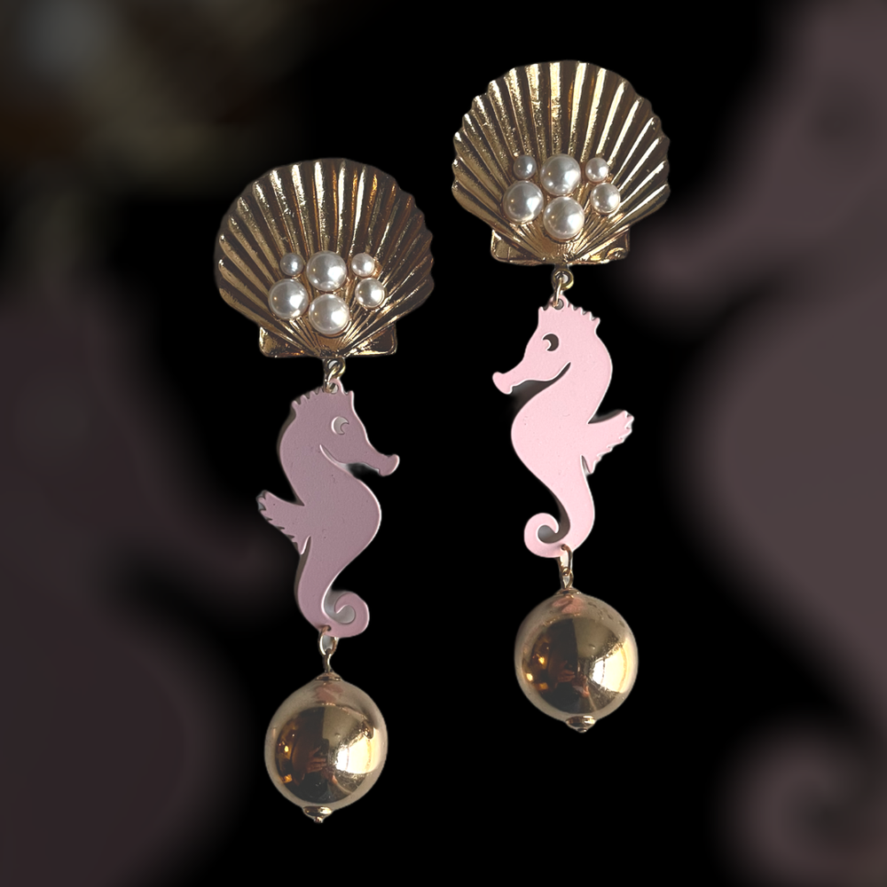 Image of The Pink Beach earrings