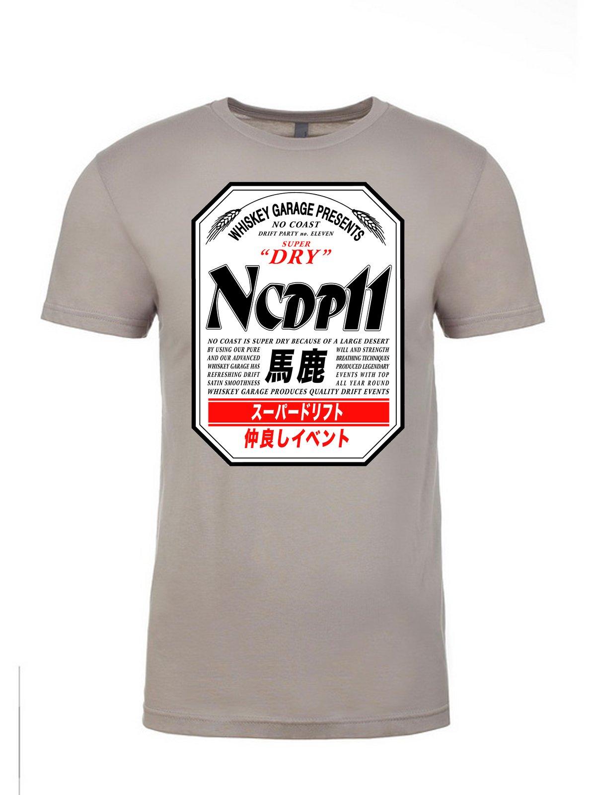 """Image of NCDP 11 """"Asahi"""" T-Shirt PRE-ORDER"""