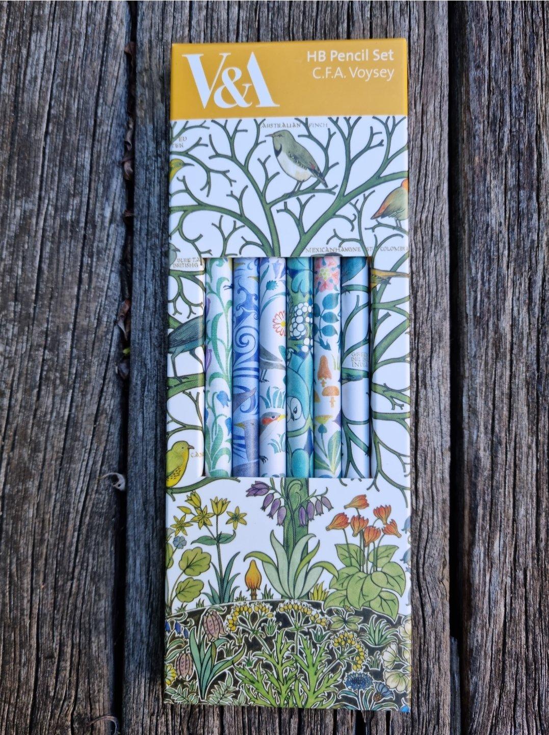 Image of Box of Pencils - CFA Voysey