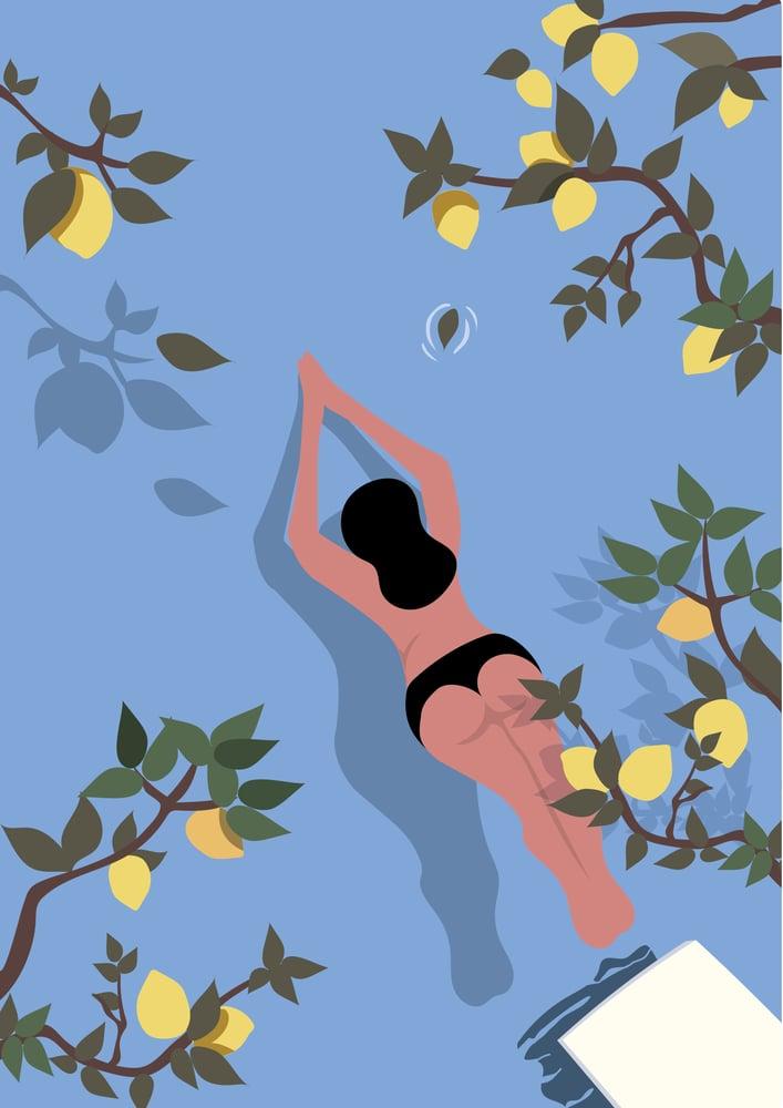 Image of Baignade et citrons