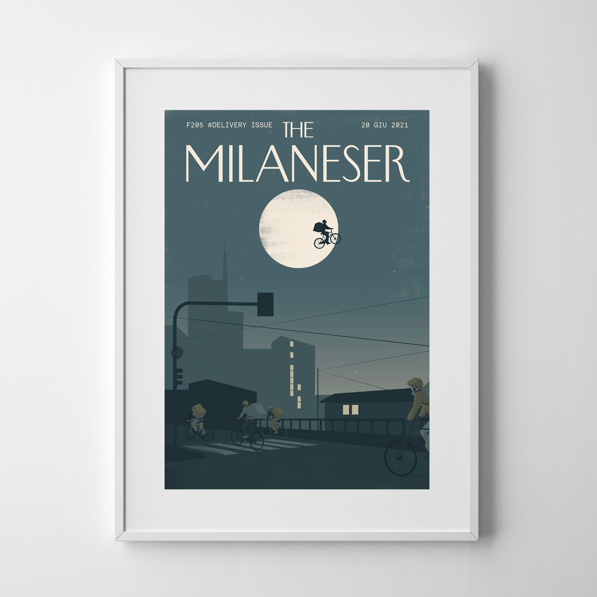Image of The Milaneser #DELIVERY ISSUE