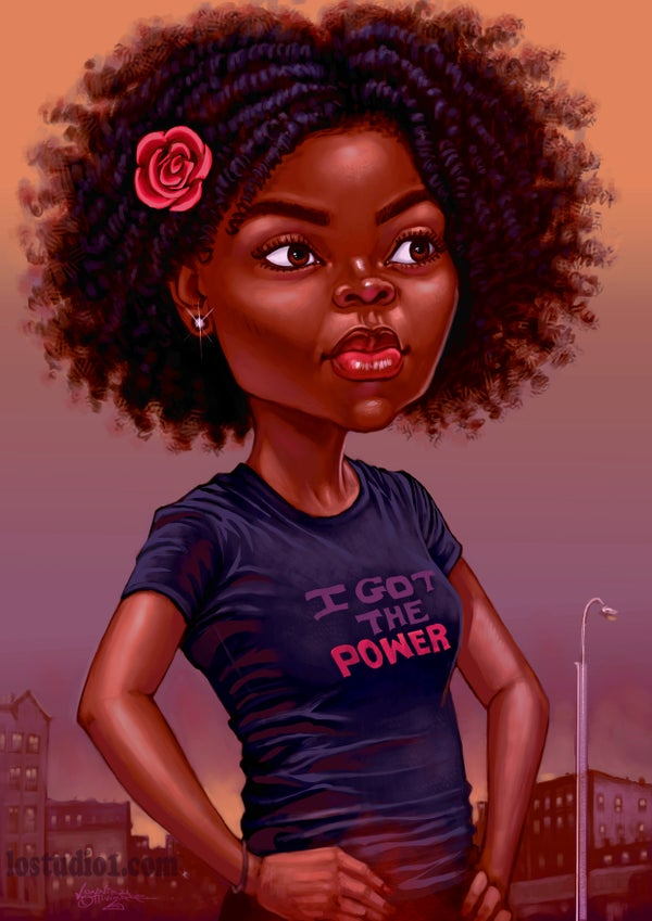 "Image of ""I GOT TE POWER"""