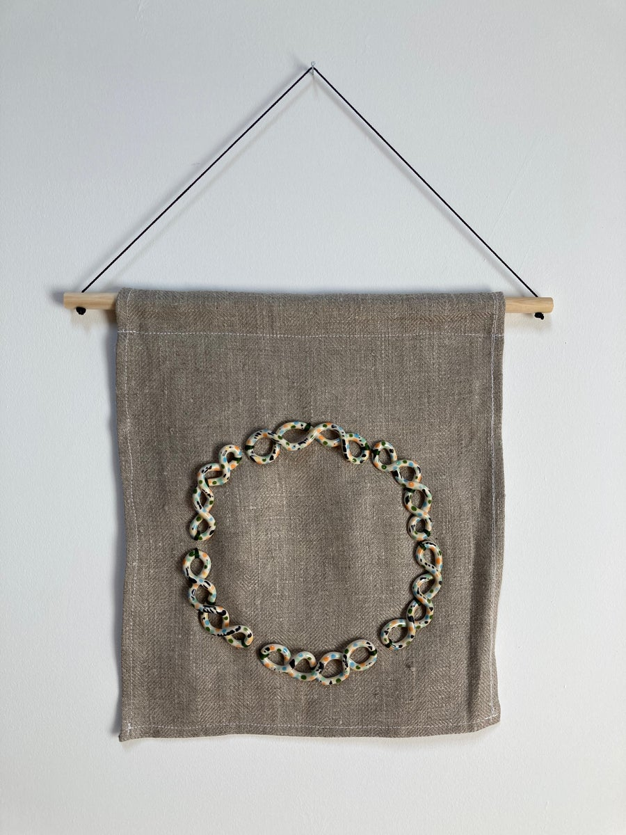 Image of Twist: wall hanging 01
