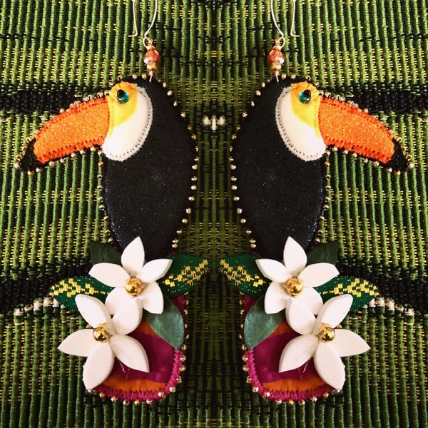 Image of YOU CAN TOUCAN Earrings!