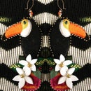 Image 2 of YOU CAN TOUCAN Earrings!