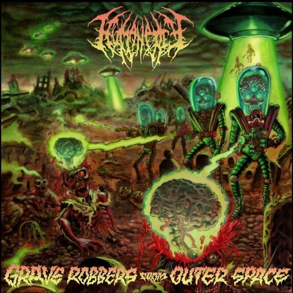 Image of HUMAN PREY - Grave Robbers From Outer Space CD DigiPack