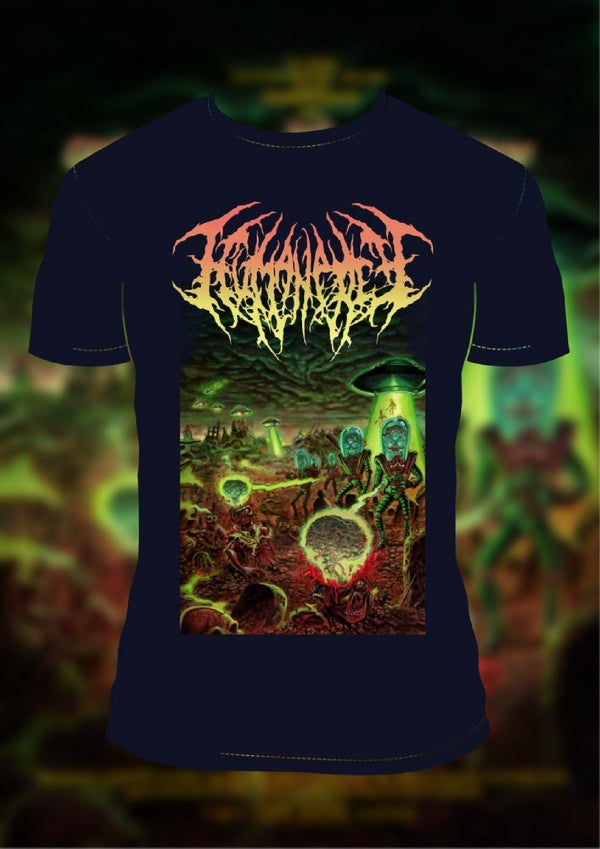 Image of HUMAN PREY - Grave Robbers from outer Space T-Shirt