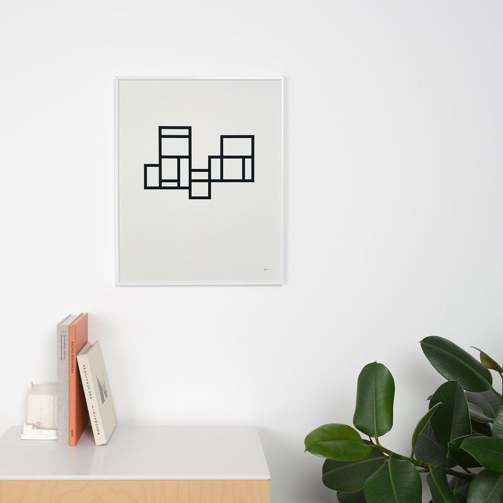 Image of Modernist 1 print by Tom Pigeon