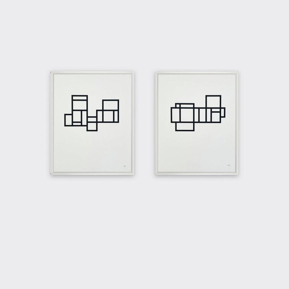 Image of Modernist 2 print by Tom Pigeon