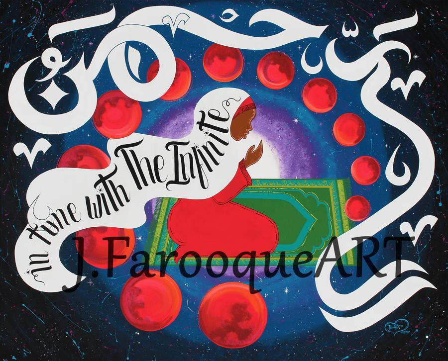 "Image of ""Blood Moon"" Art Print"
