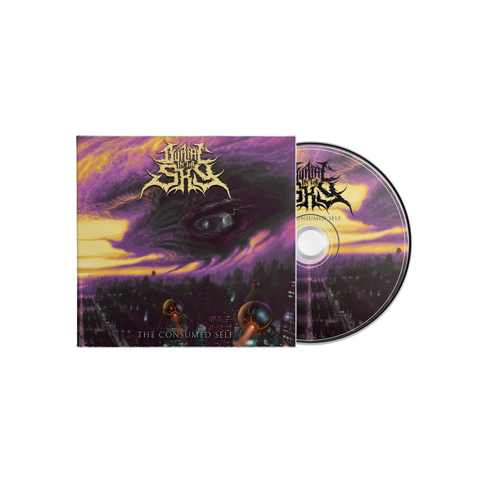 Image of BURIAL IN THE SKY - The Consume Self CD DigiPack