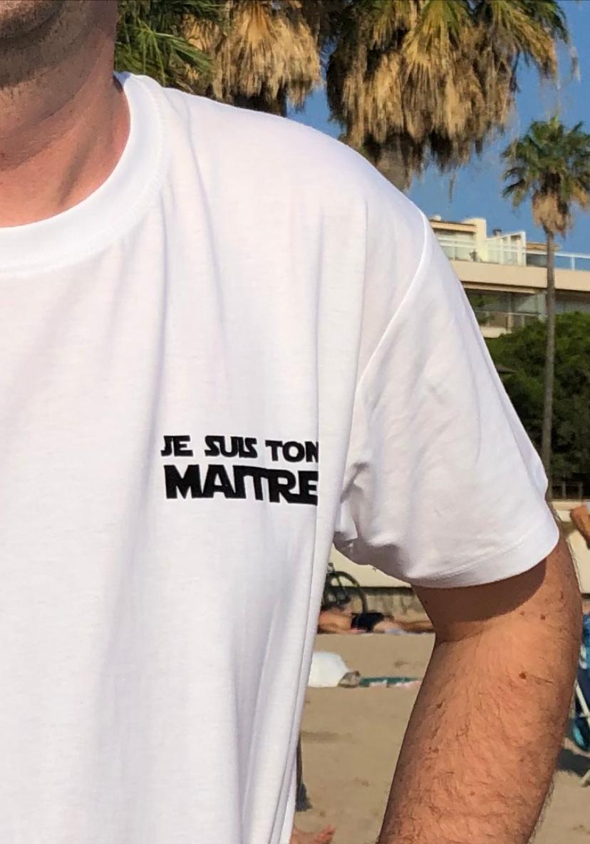 Image of Tee-shirt maître/maîtresse/nounou/atsem