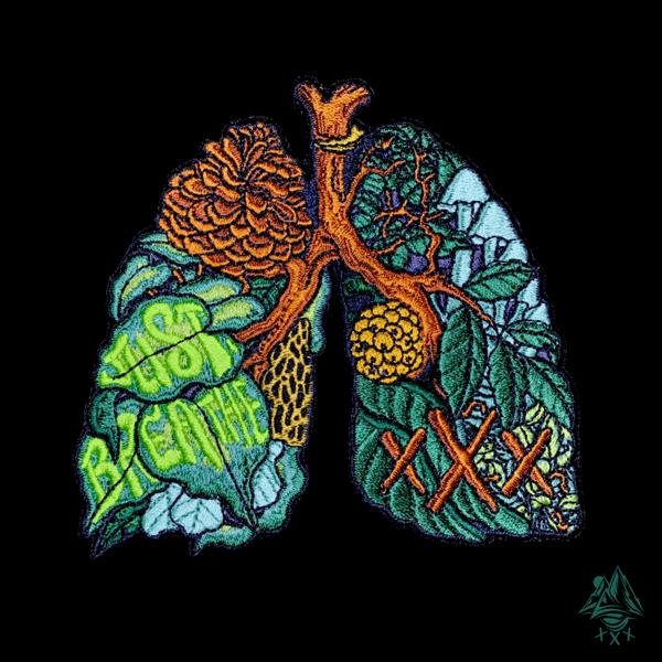 "Image of Anatomy of Nature v1 ""Just Breathe"""