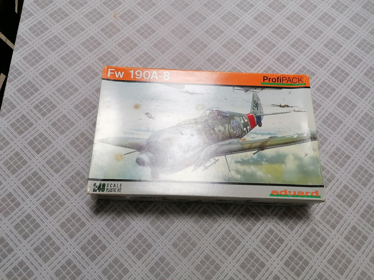 Image of EDUARD 1/48 PROIPACK FW190A-8 8173