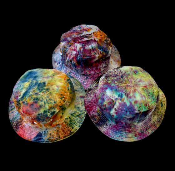 Image of Custom Dyed Bucket Hats!!