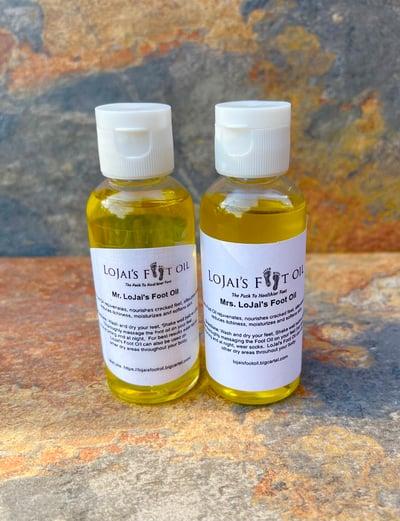 Image of Mr. & Mrs. LoJai's Foot Oil