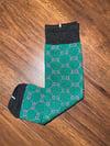 Junction green socks