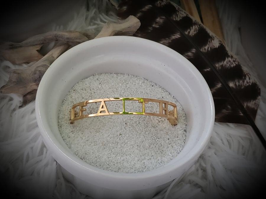 Image of Grounded in Faith Bracelet