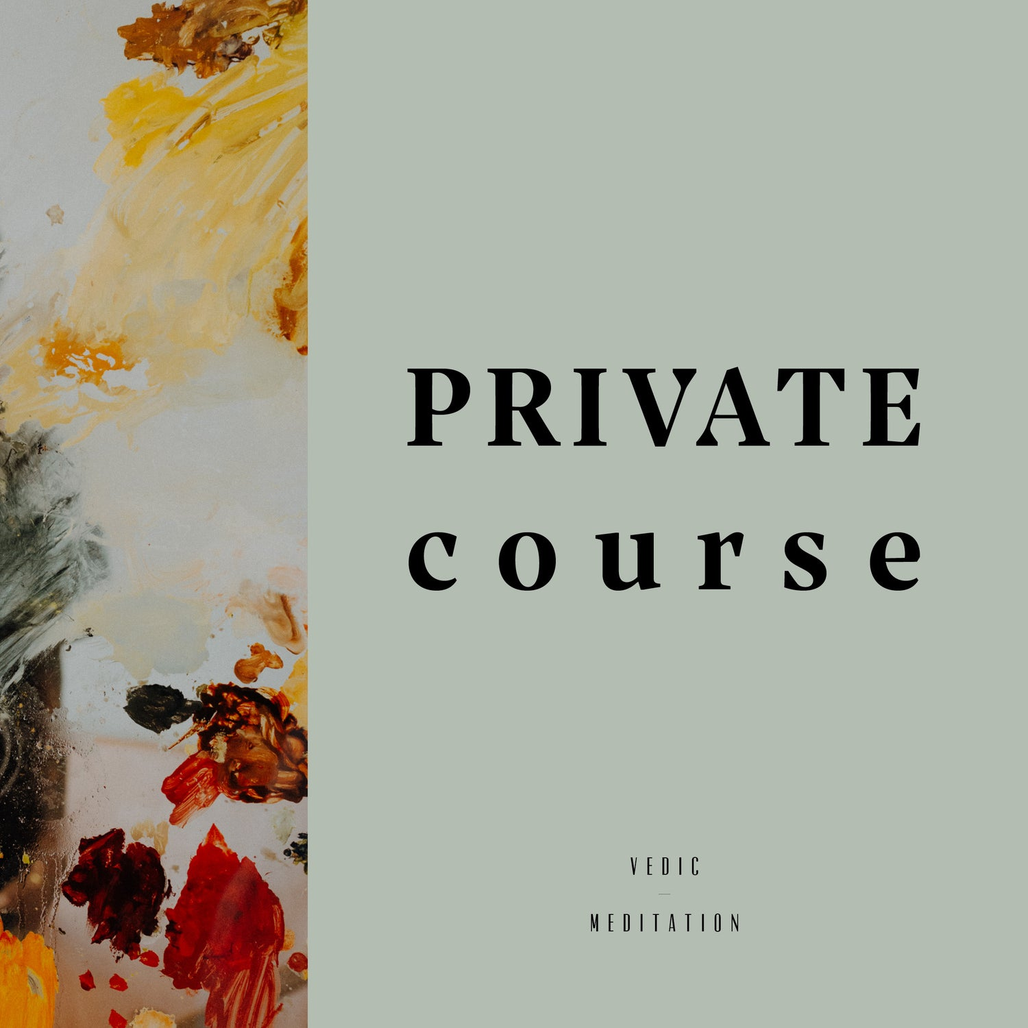 Image of PRIVATE COURSE