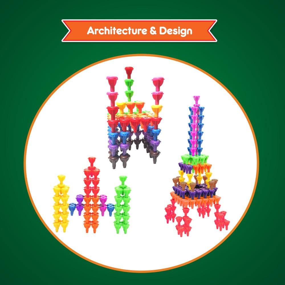 Image of Building Pegboard Set
