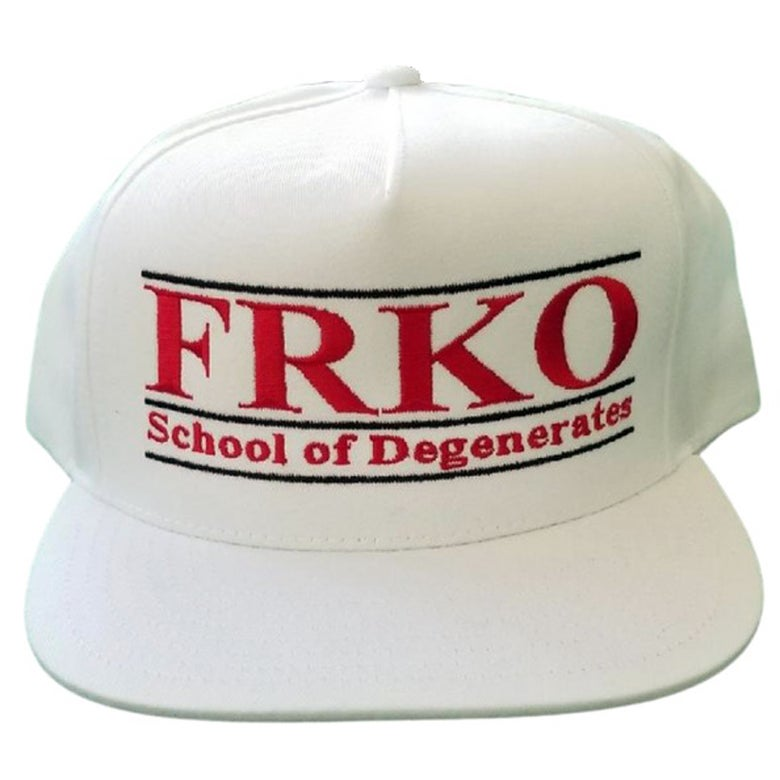 Image of SCHOOL OF DEGENERATES SNAPBACK HAT