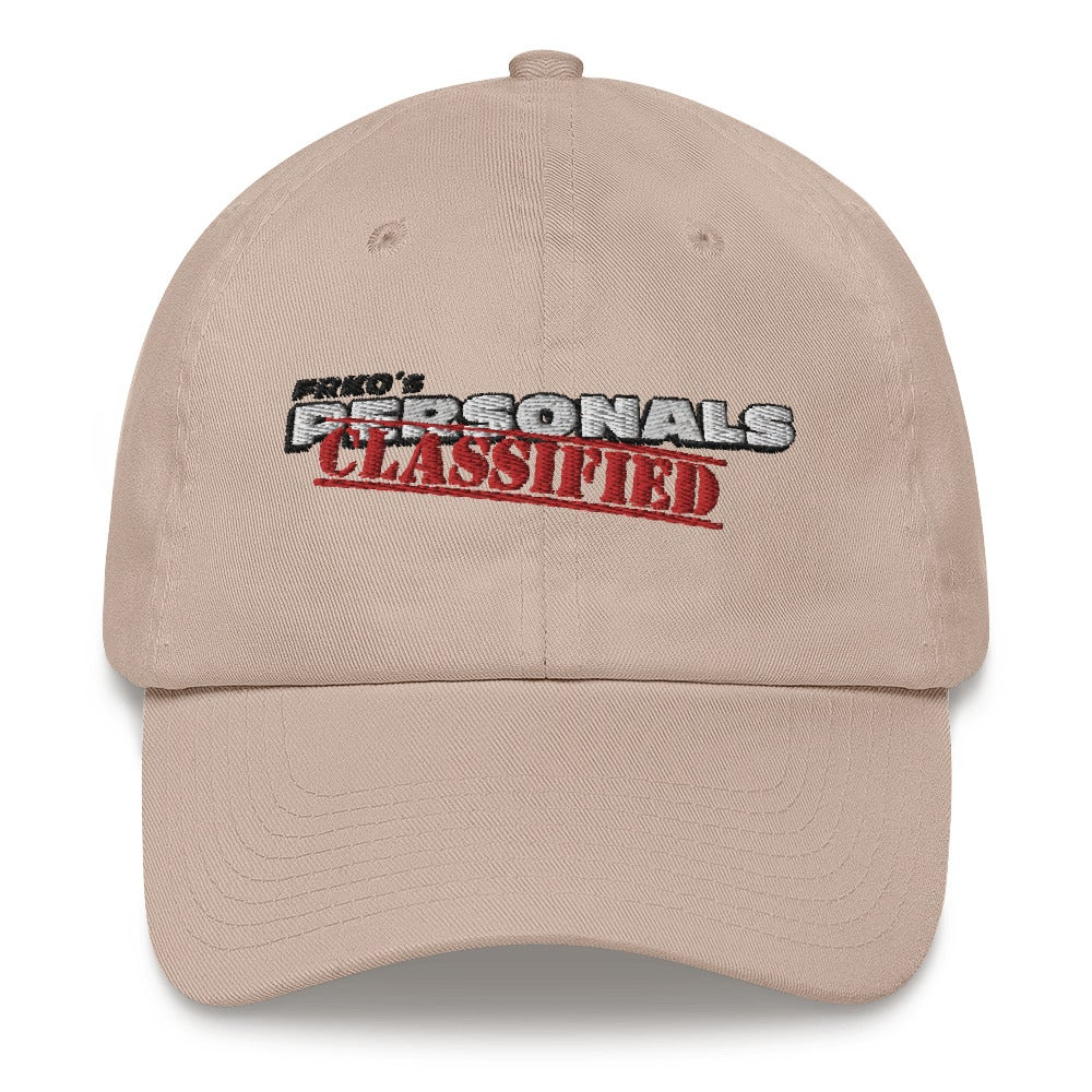 Image of CLASSIFIED PERSONALS DAD HAT