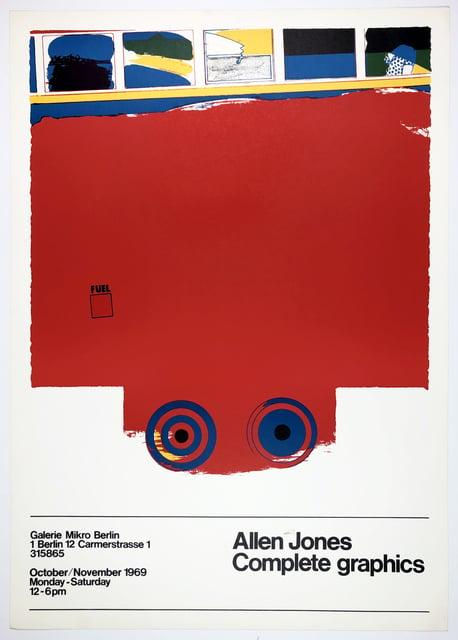 Image of allen jones / bus poster / 26/075