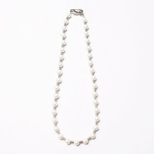 Image of ARMO - Ball Chain Pearl Necklace