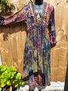 Jewelled kaftan come dress come duster coat