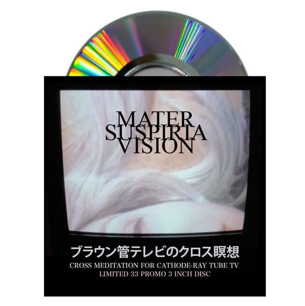 "Image of LTD 33 Collectors Club 3"" Japan CDR Mater Suspiria Vision ブラウン管テレビのクロス瞑想"