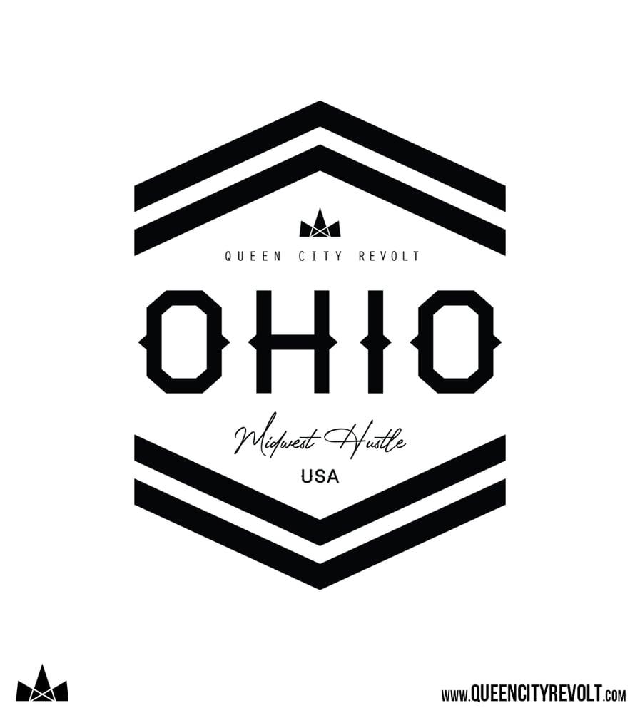 Image of Ohio Arrow Tee, Oatmeal Triblend