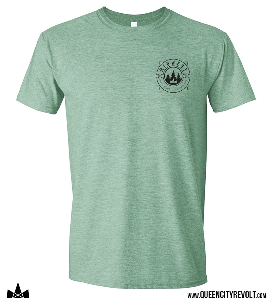 Image of Midwest LC Tee, Dusty Heather