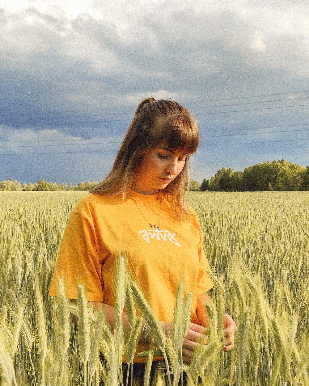 T-shirt Alternate orange