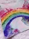Rainbow Magic Watercolor Painting II
