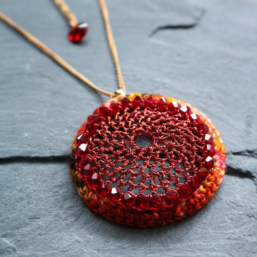 Image of DOME PENDANT - Inferno