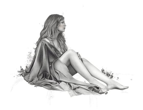 Image of 'Restless' Print