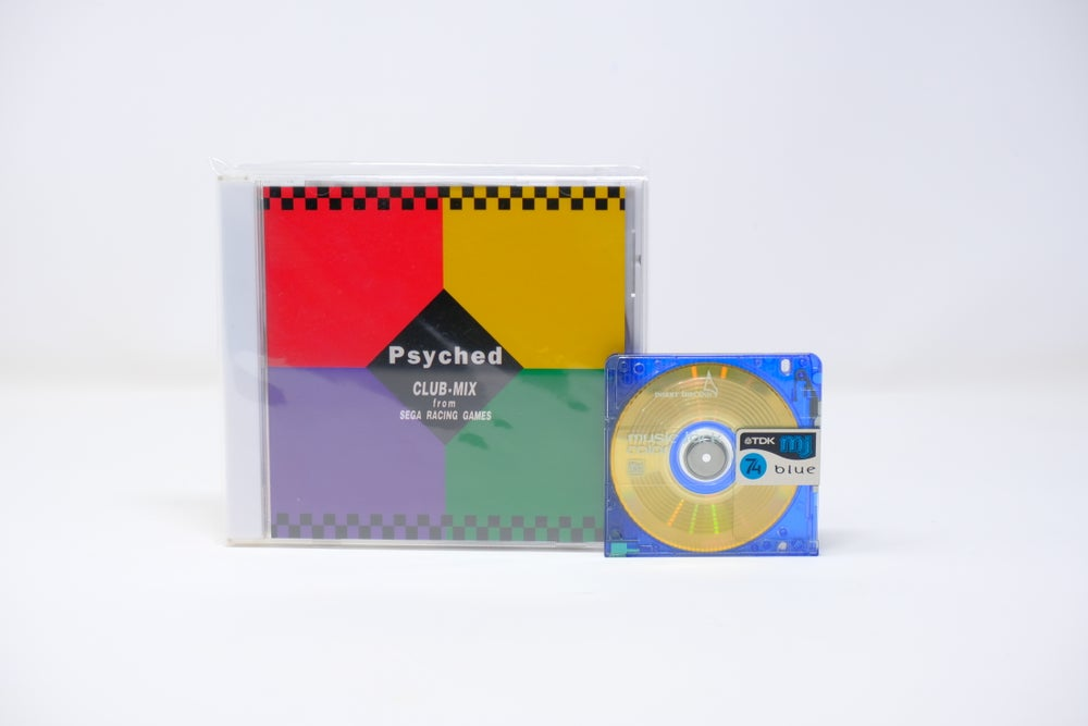 Image of Psyched CLUB MIX from SEGA racing games